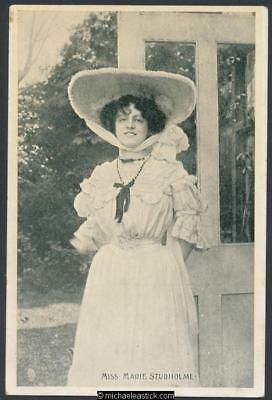 Marie Studholme (16) - English actress in musical comedy (1872-1930)