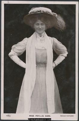 Phyllis Dare (12) - 1890-1975 - English actress in musical comedy