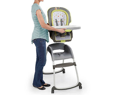 Ingenuity Trio 3-In-1 Deluxe High Chair Baby Infant Toddler Booster Feeding Seat