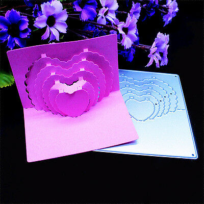 DIY Metal Cutting Dies Stencil Scrapbooking Embossing Album Paper Card Craft