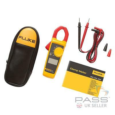 *SALE* Genuine Fluke 323 True RMS Clamp Meter + Leads, Case & Fluke Warranty