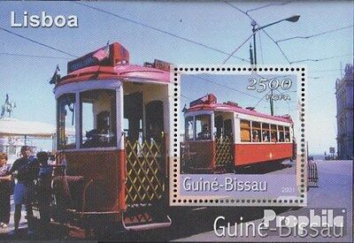 Guinea-Bissau Block365 unmounted mint / never hinged 2001 Transportation- and Tr