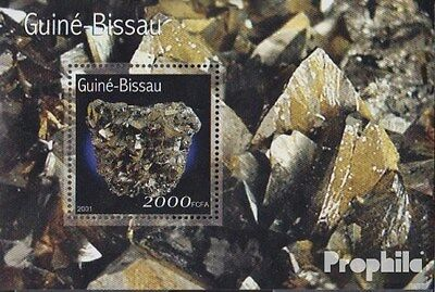 Guinea-Bissau block332 unmounted mint / never hinged 2001 Minerals