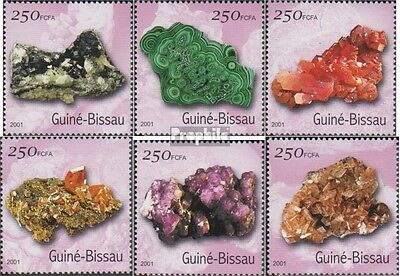 Guinea-Bissau 1528-1533 unmounted mint / never hinged 2001 Minerals