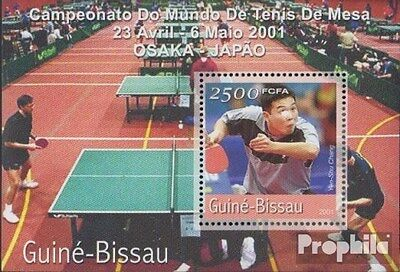 Guinea-Bissau Block320 unmounted mint / never hinged 2001 Table Tennis-WM