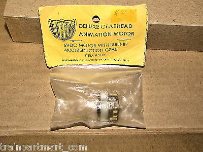 5188 N Scale Carnival Ride Motor And Gearhead Factory Original Part Very Rare