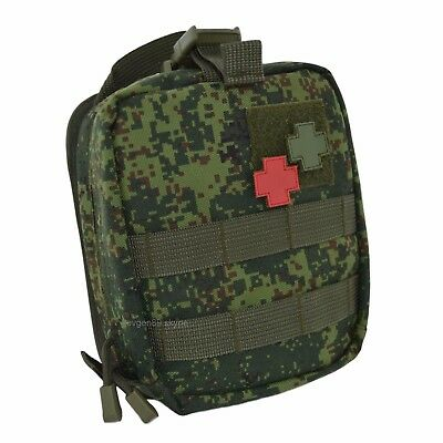 ANA Tactical Fast Release Medical Pouch EMR DIGITAL FLORA Russian Original