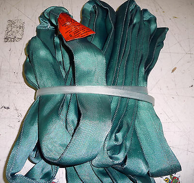 Green Round Sling Rigging Kit -4 Slings  4 Diff Lengths all Rated 5300# Vert WLL