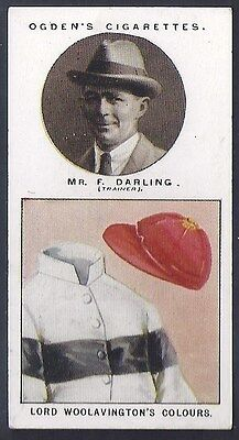 Ogdens-Trainers & Owners Horse Racing Colours (1St Series)-#05- Darling