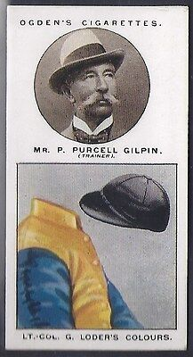 Ogdens-Trainers & Owners Horse Racing Colours (1St Series)-#07- Purcell Gilpin