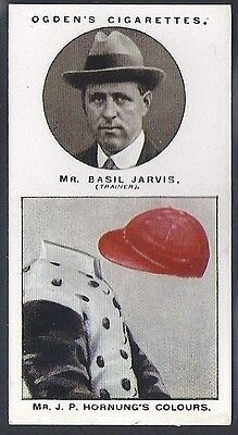 Ogdens-Trainers & Owners Horse Racing Colours (1St Series)-#08- Jarvis