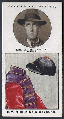 Ogdens-Trainers & Owners Horse Racing Colours (1St Series)-#10- Jarvis