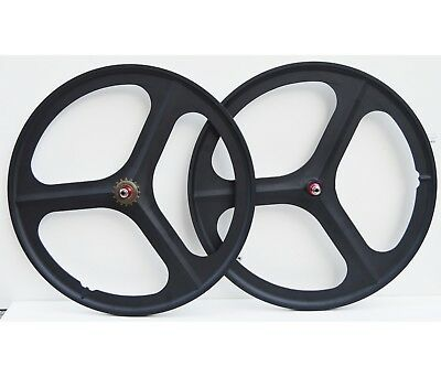 Navigate 3 Spoke 700c Fixie / Single Speed Road Bike Wheel Front or rear