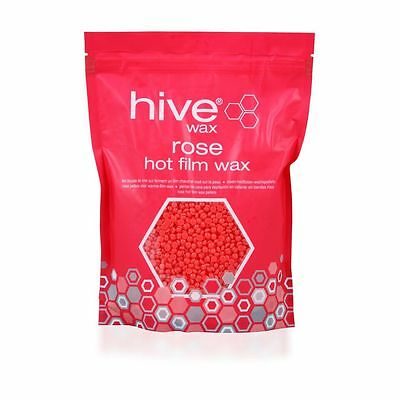 THE HIVE ROSE HOT FILM WAX PELLETS FOR MANICURES & PEDICURES  700g