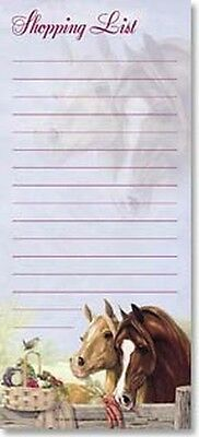Leanin' Tree Shopping Set of 2 List - Set of 2 List Pads (with Magnet)
