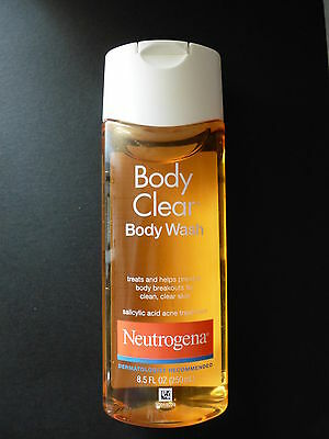 NEUTROGENA BODY CLEAR BODY WASH ACNE TREATMENT 250ml