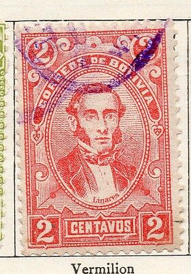 Bolivia 1897 Early Issue Fine Used 2c. 157625