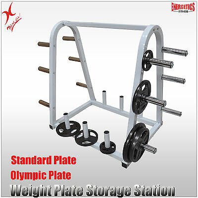 Display - Self Pick-Up In 3020 - Weight Plates Storage Station