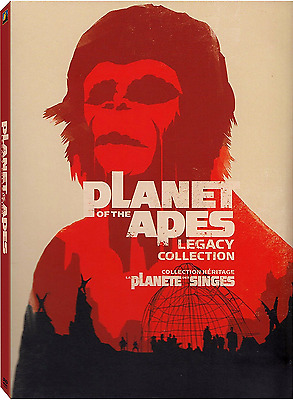 Planet of the Apes: Complete Original Movie Series 1 2 3 4 5 Box / DVD Set NEW!