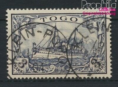 Togo (German. Colony) 18 fine used / cancelled 1900 Ship Imperial Yacht Hohenzol