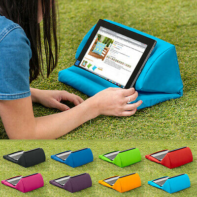 Waterproof Tablet Cushion Book Stand Pillow Lap Rest Portable Foldable Universal