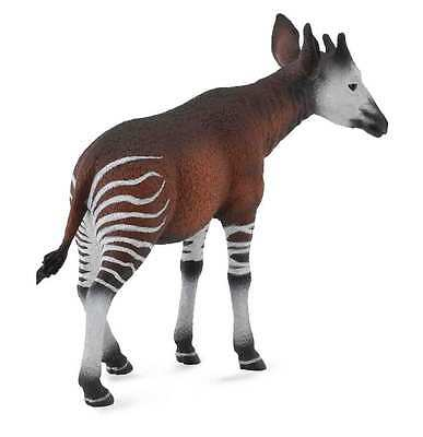 CollectA Wildlife Okapi Toy Figure - Authentic Hand Painted Model