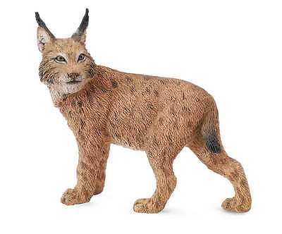 CollectA Wildlife Lynx Toy Figure - Authentic Hand Painted Model
