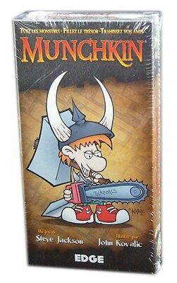 Edge, Munchkin Seconde édition, Version Francaise, Neuf