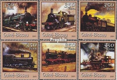 Guinea-Bissau 1725-1730 unmounted mint / never hinged 2001 Transportation- and T