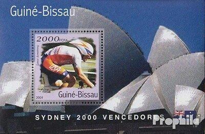 Guinea-Bissau Block306 unmounted mint / never hinged 2001 Medalists Olympia 2000