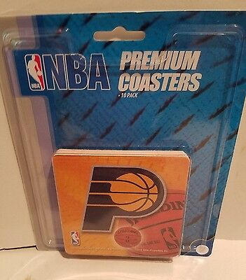 Rico industries NBA Indiana Pacers Basketball Premium Coasters 10 pack