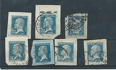 France stamps. 1925 Pasteur & 1924 Ronsard  used  (S841)