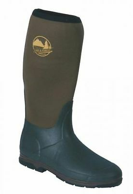 New Mens Neoprene Wellington Muck Boots Hunter Voyager Forest Walk Free Postage