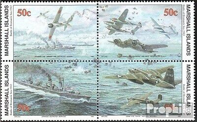 Marshall-Islands 454-457 block of four unmounted mint / never hinged 1993 Histor