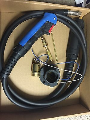 Mig Welder Euro Torch Conversion Kit + Mb15 4M Euro Mig Torch Complete
