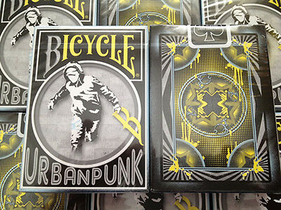 Urban Punk Bicycle Playing Cards - ! ULTRA RARE DECK !