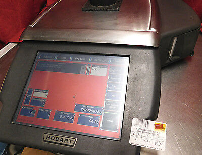 EXCELLENT THROUGHLY CLEANED! Hobart Quantum HLX deli Scale Printer 29289-JR #365