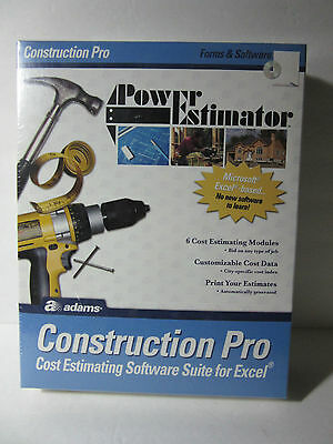 Adams Power Estimator: Construction Pro - ALB503SW