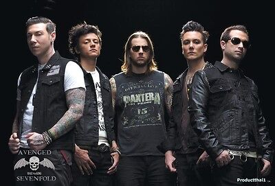 """O-7239 AVENGED SEVENFOLD THE POSTER 24""""x36"""" MUSIC ROCK CONCERT NEW SIDE SHEET"""
