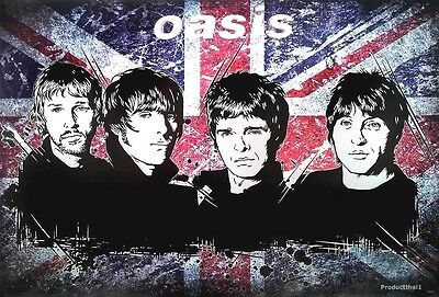 "J-4914 OASIS ENTERTAINMENT THE POSTER SHEET 24""x36"" MUSIC ROCK CONCERT NEW WALL"
