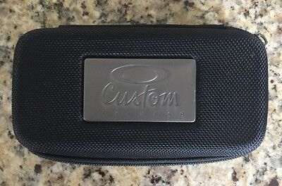 Rare Oversized Oakley Custom Eyewear Black Vault Sunglass Case. EUC