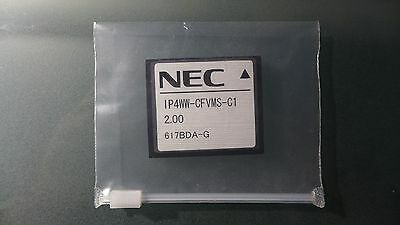 NEW NEC-1100112 BE110731 CF 2 Ports/15 Hours Voice Mail  Inmail