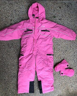 GIRLS YOUTH SIZE 2 - Brand: ARCTIC STAR - SKI SNOW SUIT ONE PIECE Waterproof
