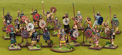 SAGA Scots Warband 4 Point Starter Army 28mm Scale Miniatures SSB08