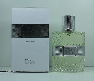 Neu Christian Dior  Eau Sauvage Eau De Toilette Edt 50 Ml Spray