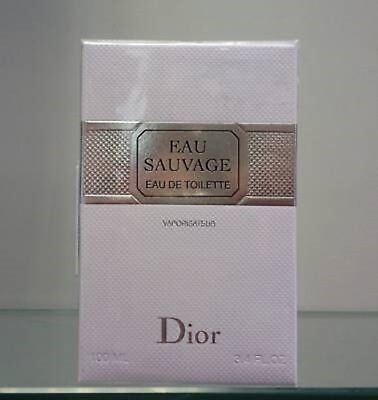 Neu Christian Dior  Eau Sauvage Eau De Toilette  Edt 100 Ml Spray