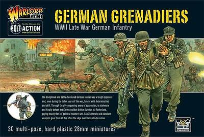 Warlord Games Bolt Action German Grenadiers 28mm Scale Miniatures WGB-WM-09