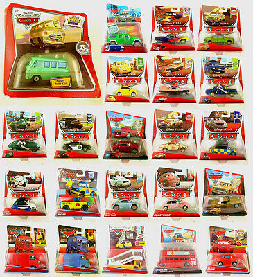 Mattel Disney Pixar Cars Other Characters Metal Toy Car 1:55 New In Stock Boxed