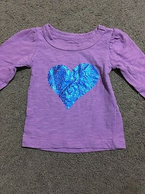 Baby Girls Cotton On Long Sleeve Top Size 0000 EUC