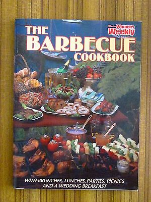 Women's Weekly Recipe Book - Barbecue Cookbook Bbq Weber Kettle Meat